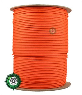 Szpula linki Paracord 550 o długości 304,8 metra, kolor: Orange yellow