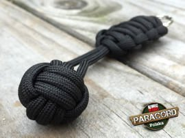 "Brelok survivalowy Monkey's Fist ""Pięść Małpy"", kolor ""Black"""