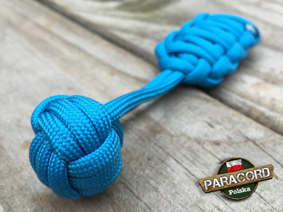 "Brelok survivalowy Monkey's Fist ""Pięść Małpy"", kolor ""Blue"""