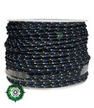 Paracord P3 Cord, kolor: Dark blue reflective - mocna poliestrowa linka o średnicy 2,5 mm.