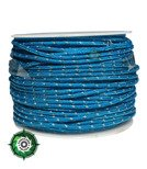 Paracord P3 Cord, kolor: Sky Blue reflective - mocna poliestrowa linka o średnicy 2,5 mm.